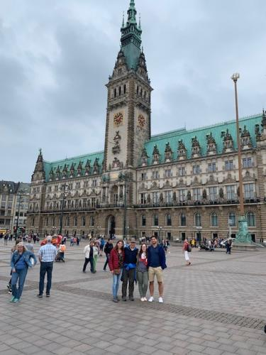 Sightseeing in Hamburg